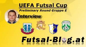 Interview UEFA Futsal Cup 2014