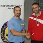 Pokalübergabe: Futsal Klagenfurt