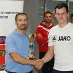 Pokalübergabe: Futsal Komusina St. Lambrecht