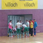 Time Out bei Futsal Klagenfurt