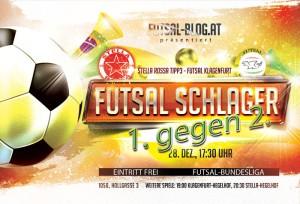 Flyer Stella Rossa - Futsal Klagenfurt