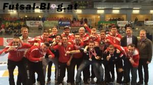 Vizemeister: Futsal Klagenfurt