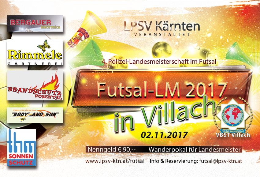 Futsal Polizei-Landesmeisterschaft 2017