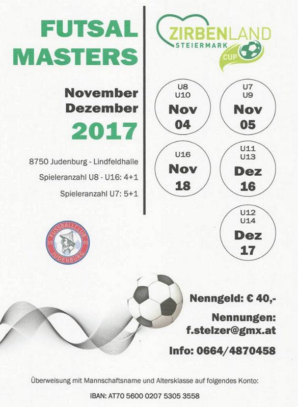 2017 Flyer FutsalMasters-Judenburg