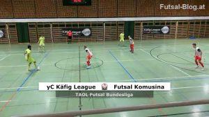 youngCaritas Käfig League - Futsal Komusina