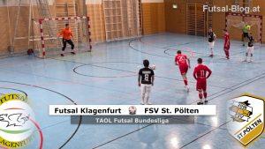 futsal klagenfurt - fsv uniqa st pölten