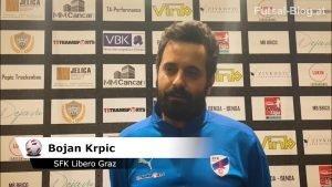 Interview Bojan Krpic (SFK Libero Graz)