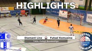 Diamant Linz - Futsal Komusina Torparade