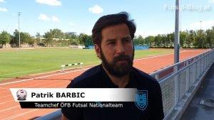 Patrik Barbic Teamchef Futsal Nationalteam