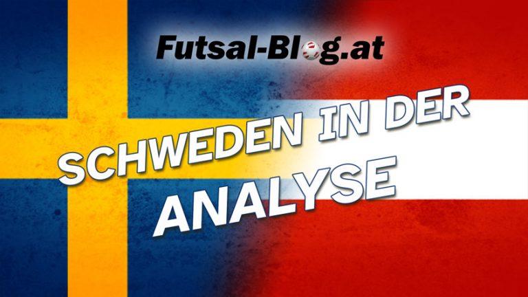 schweden sverige futsal analyse